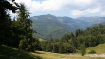 Nízke Tatry v pozadí Ďumbier