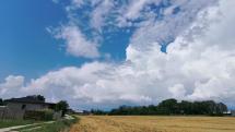 Oblačnosť Partizánske 11.8.2020