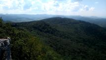 Pohľad z vrchu Žibrid