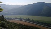 Pohľad na  údolie Hrona