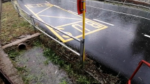 Rokytovce v daždi