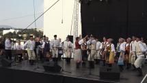 Folklórna Bystrica - vystúpenie folklórneho súboru Mostár