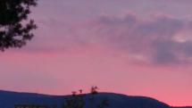 Cervené nebo nad Martinskými Hoľami