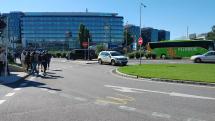 Aupark Bratislava zažívá evakuaci osob