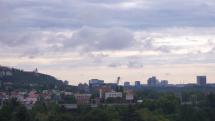 Bratislava po nočných búrkach