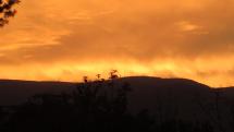 Západ slnka nad Martinskými Hoľami !