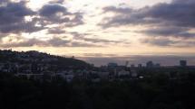 Chladné ráno v Bratislave