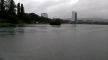 Dnešný dážď na Kuchajde