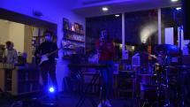 Koncert počas literárneho festivalu v Košiciach
