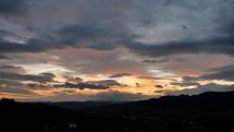 Barevné svítání na Moravě