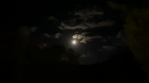 Nočná obloha nad Levočou