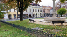 Jeseň v Levoči.