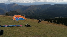 Paragliding nad Donovalmi