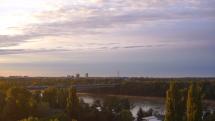 Konečne slnečné ráno v Bratislave