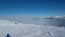 Dnes ráno a pohľad na Vysoké tatry