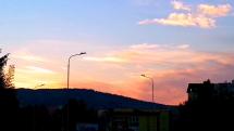 Západ slnka v Bardejove