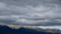 časozber oblačnosti nad Vysokými Tatrami, dnes dopoludnia = 26.10.2020
