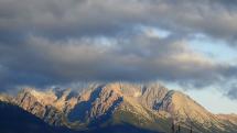 časozber oblačnosti nad Tatrami - 16.11.2020 - ráno