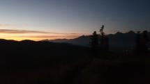 Pohľad zo Zámčiska na Popradskú kotlinu