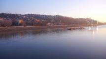 Mrazivé ráno v Bratislave