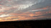 Obloha po západe slnka