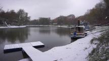 Prvý sneh už aj v Bratislave