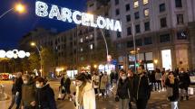 Barcelona počas Adventu 2020