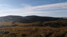 Pohronský Inovec a Tribeč v inverzii